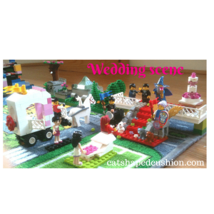 wedding scene lego
